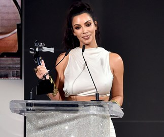 "Kim Kardashian Admits She Was Shocked To Win A Fashion Award Considering She's Naked ""Most Of The Time"""
