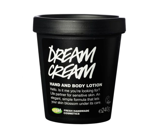 "**Dream Cream, $29.95 at [Lush](https://au.lush.com/products/dream-cream|target=""_blank"")** <br><br> Earlier this year, Lush's Dream Cream went viral for all the right reasons. A mother in Poole, England, reckons this product all but cleared up her baby's eczema. ([Click here](https://www.cosmopolitan.com.au/beauty/lush-dream-cream-eczema-cure-26485