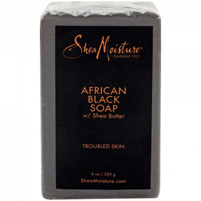 """**Shea Moisture African Black Soap**, $9.99 at [Priceline](https://www.priceline.com.au/sheamoisture-african-black-soap-with-shea-butter-230-g