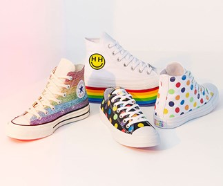 Converse Just Released A Pride Collection Designed By Miley Cyrus And You'll Want One Of Everything