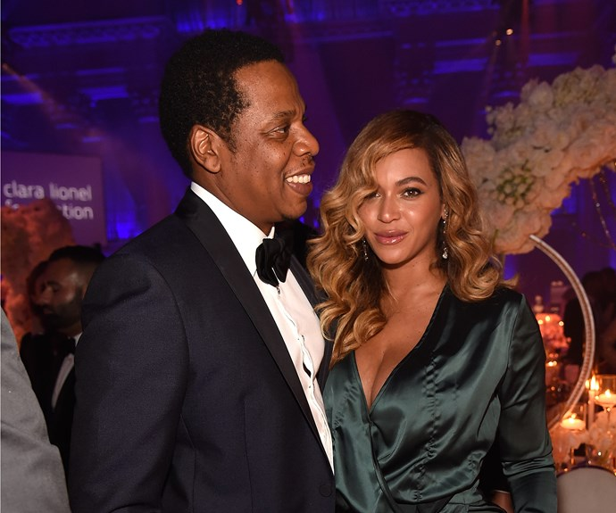 Apparently those weren't Beyoncé and Jay-Z's twins, Rumi and Sir, at all