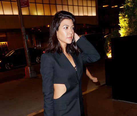 Kourtney Kardashian Just Didn't Feel Like Wearing Pants, Ok?