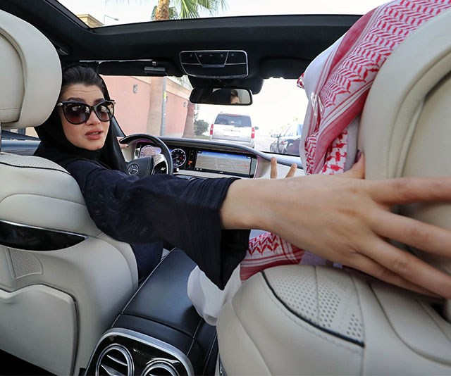 Saudi Arabia just issued its first driving licences to women