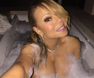 Obviously Mariah Carey doesn't bathe like regular people