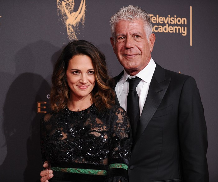 Anthony Bourdain's girlfriend Asia Argento releases a statement about the chef's shock death