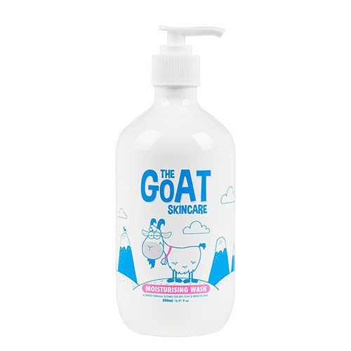 "The Goat Skincare Moisturising Wash, $9.99 at [Priceline](https://www.priceline.com.au/the-goat-skincare-moisturising-wash-500-ml|target=""_blank"")."