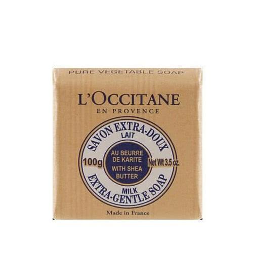 "L'Occitane Extra Gentle Milk Soap, $12 at [Adore Beauty](https://www.adorebeauty.com.au/loccitane/l-occitane-extra-gentle-milk-soap-with-shea-1.html|target=""_blank"")."
