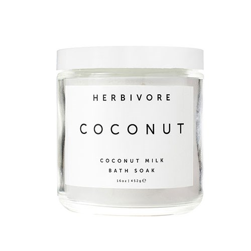 "Herbivore Coconut Milk Bath Soak, $42 at [Revolve](http://www.revolve.com/herbivore-botanicals-coconut-bath-soak/dp/HRBR-WU30/?d=F&currency=AUD&countrycode=AU|target=""_blank"")."
