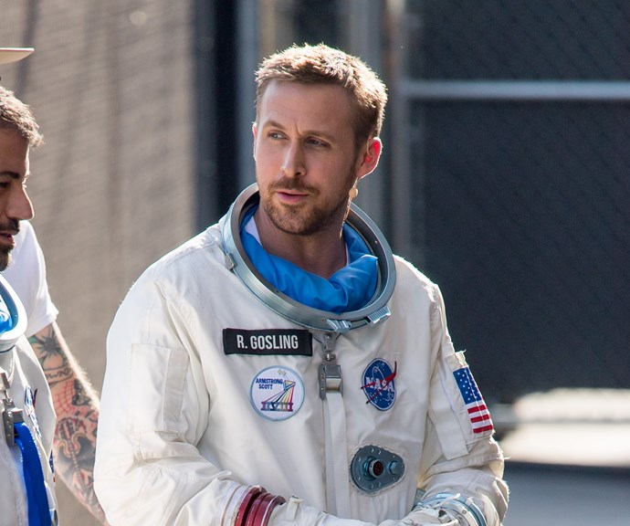 Earth's hottest dude, Ryan Gosling is a hot moon man in the 'First Man' trailer