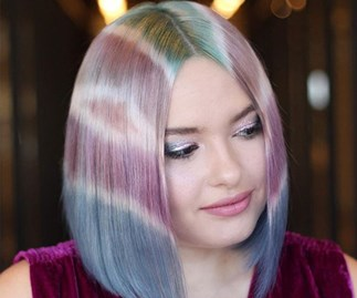 tie dye hair kelsey pebler