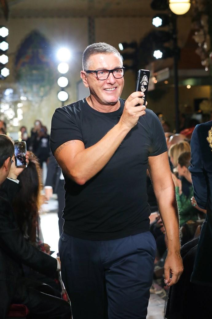 Stefano Gabbana.