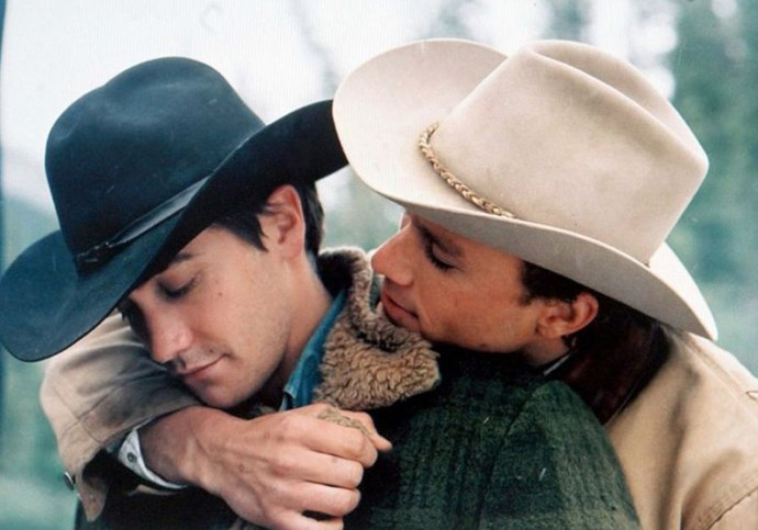 **Ennis and Jack — *Brokeback Mountain*** <br><br> Okay, okay. We know what you're thinking. 'Brokeback Mountain? How fkn obvious', but that's exactly it. Any wrap up of shippable same sex relationships *has* to include these cowboy bros and their tragic love story. Why? 'Cos we still can't accept what happened and we're hoping Jack's death is just one big reuse.