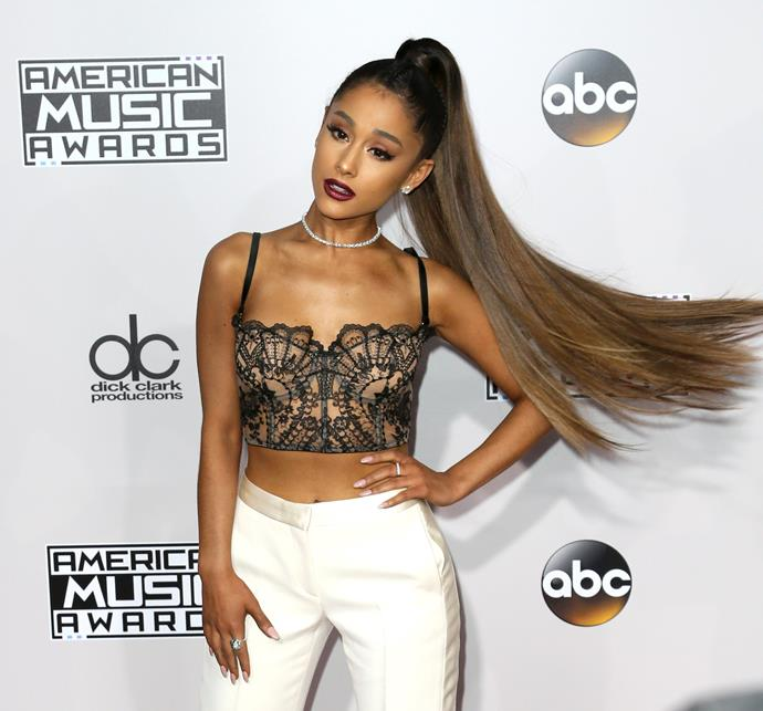**November 2016**<br><br>  In late 2016, the super-long, high volume ponytail made its debut at the American Music Awards.