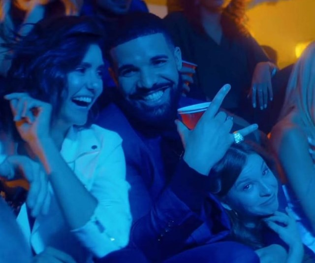 The 'Degrassi' cast reunited for Drake's nostalgic 'I'm Upset' music video