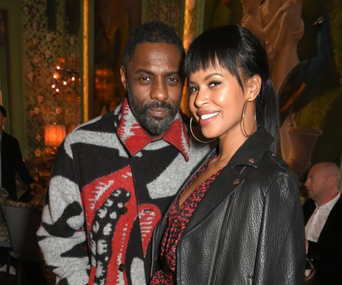Idris Elba and Sabrina Dhowre  <br><br> The 45-year-old actor, proposed to longtime beau Sabrina Dhowre on Feb 10 at Rio Cinema in London before a screening of his big screen directional debut *Yardie*.