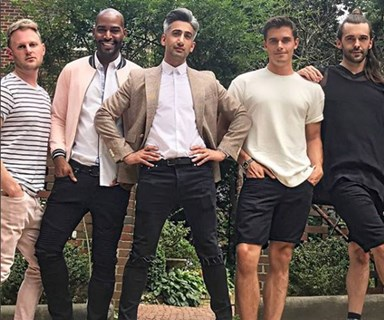 'Queer Eye's' Tan France is legit mortified by Frasier Crane being a style icon