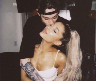 "Um, Pete Davidson And His Ex Were Reportedly ""On A Break"" When He Started Dating Ariana Grande"
