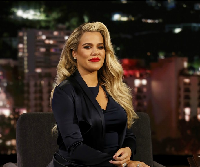 """Khloe Kardashian claps back at claims she's """"lost a tremendous amount of weight"""" post-pregnancy"""