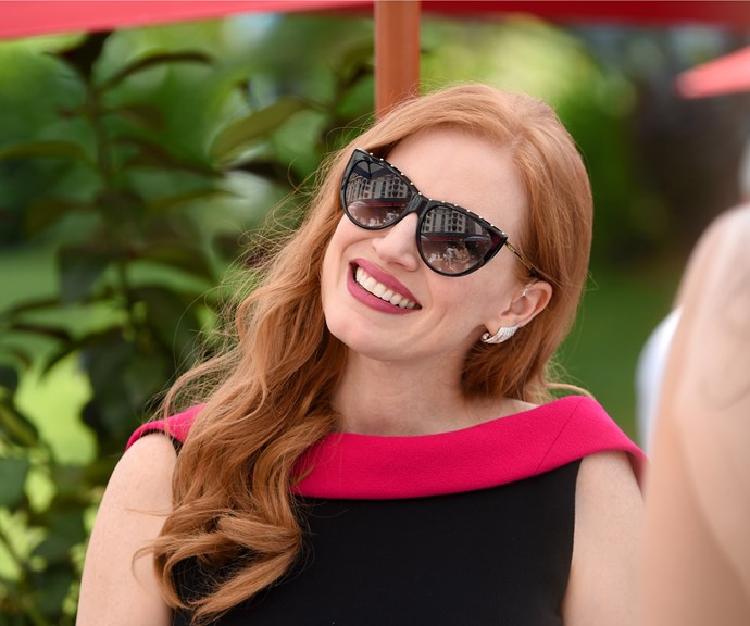Jessica Chastain just cut off all her glorious red hair but DW, she still looks fire