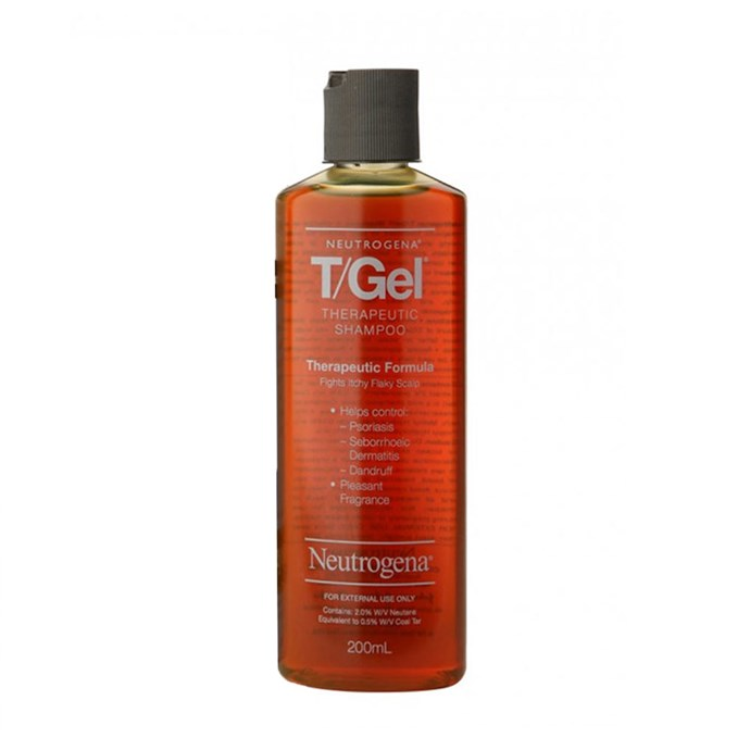 "Neutrogena T/Gel Shampoo, $12.50 at [Priceline](https://www.priceline.com.au/neutrogena-t-gel-shampoo-200-ml?gclid=CjwKCAjwma3ZBRBwEiwA-CsblEVeetA6vGaJNZuKnjJSXAggd0BWlMWcOQAlKbf4xIoubrPOEDEZCBoCqmwQAvD_BwE&gclsrc=aw.ds|target=""_blank""