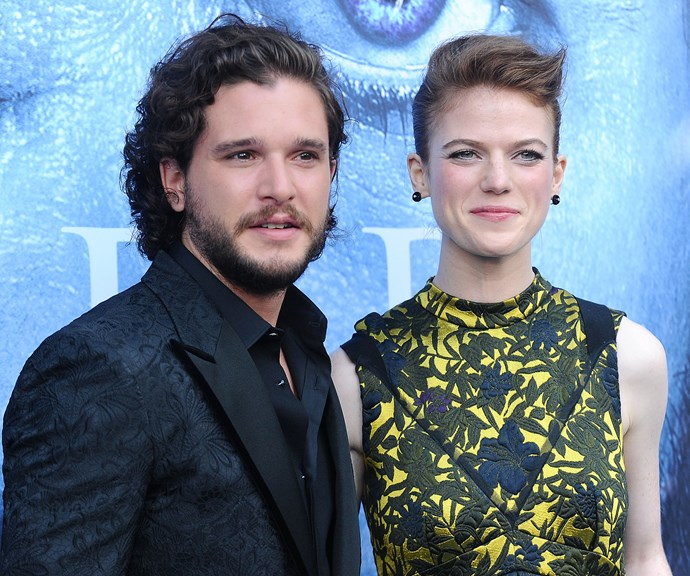 Kit Harington Rose Leslie wedding