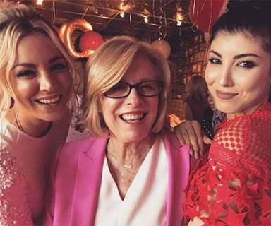 Kaley Cuoco just had the wildest, pinkest Bachelorette Party in history