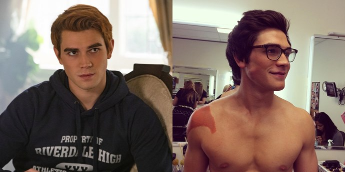 **Archie Andrews — KJ Apa** <br><br> **Age in real life: 21**