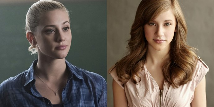 **Betty Cooper — Lili Reinhart** <br><br> **Age in real life: 21**