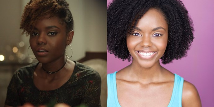 **Josie McCoy — Ashleigh Murray** <br><br> **Age in real life: 30**