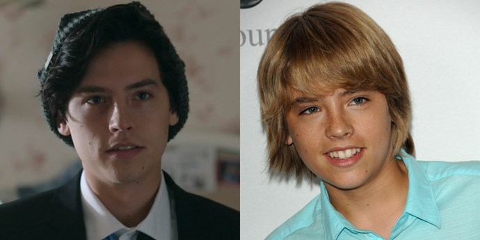 **Jughead Jones — Cole Sprouse** <br><br> **Age in real life: 25**