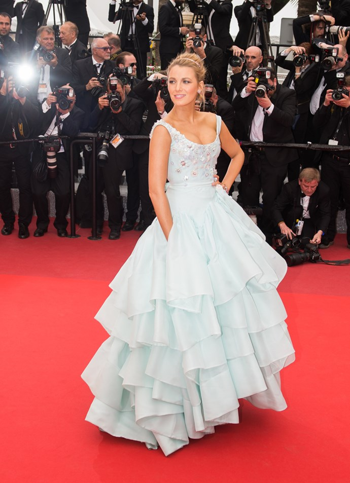 Blake Lively at Cannes Film Festival 2017.
