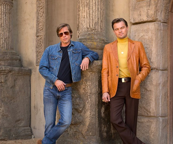 Leo DiCaprio teases first pic of him and Brad Pitt looking like retro honeys in their new film