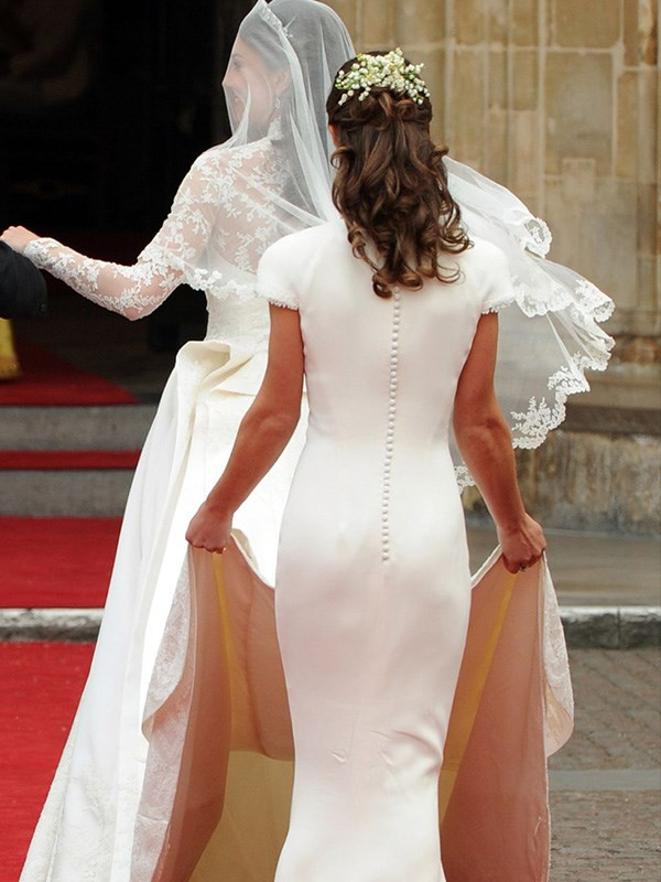 **Pippa Middleton's Butt Eclipse**  When Kate Middleton married Prince William in April 2011, only the most devoted royal watchers even knew that she had a sister. But after Pippa carried Kate's train on the big day, nobody could stop talking about her butt, which really stole the spotlight. Debate raged on for weeks about whether it was even that impressive of a butt, but there's no question that it was *the* topic of conversation surrounding that wedding.