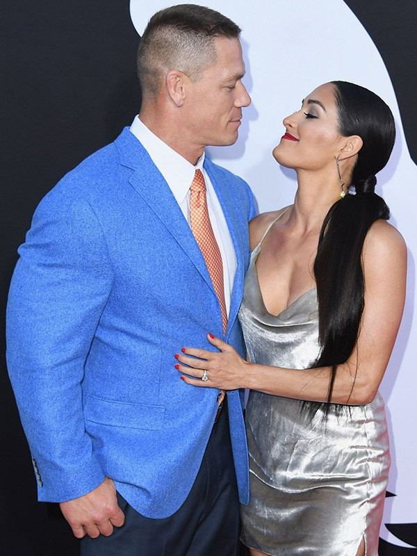 """**Literally Everything About John Cena and Nikki Bella**  This one's a doozy — in April 2018, engaged couple John Cena and Nikki Bella announced their breakup via Instagram, then spent the next several weeks getting dramatic on social media. As of June, though, they're [back together](https://people.com/tv/nikki-bella-and-john-cena-officially-back-together/