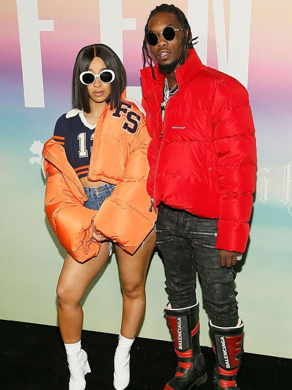 """**Cardi B and Offset's Secret Nuptials**  Cardi B and Offset have supposedly been """"engaged"""" since September, but in June, TMZ reported that they've [actually been married since then](https://www.cosmopolitan.com.au/celebrity/cardi-b-offset-married-27227