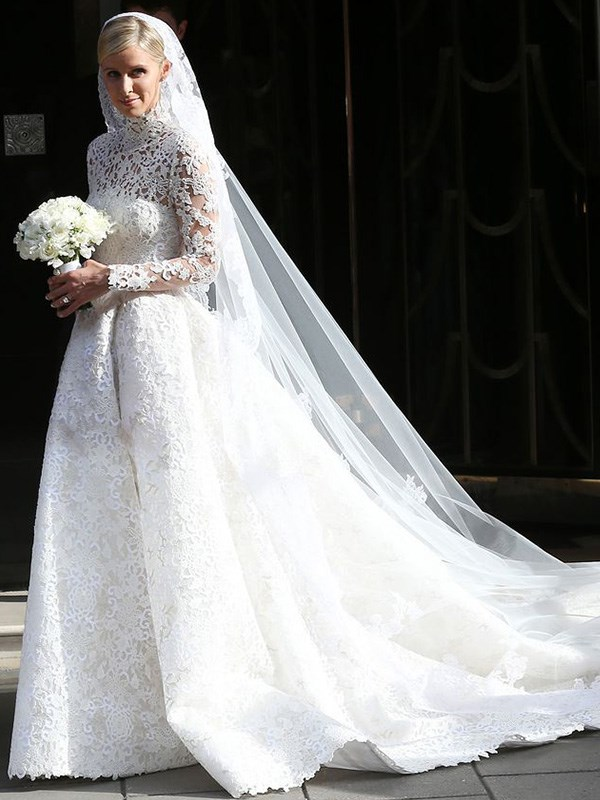 """**Nicky Hilton's Roadkill Train**  At her 2015 wedding to James Rothschild, Nicky Hilton [accidentally](http://www.dailymail.co.uk/femail/article-3156282/Preparations-billion-dollar-wedding-begin-Paris-Hilton-arrives-Claridge-s-flowers-delivered-Kensington-Palace.html