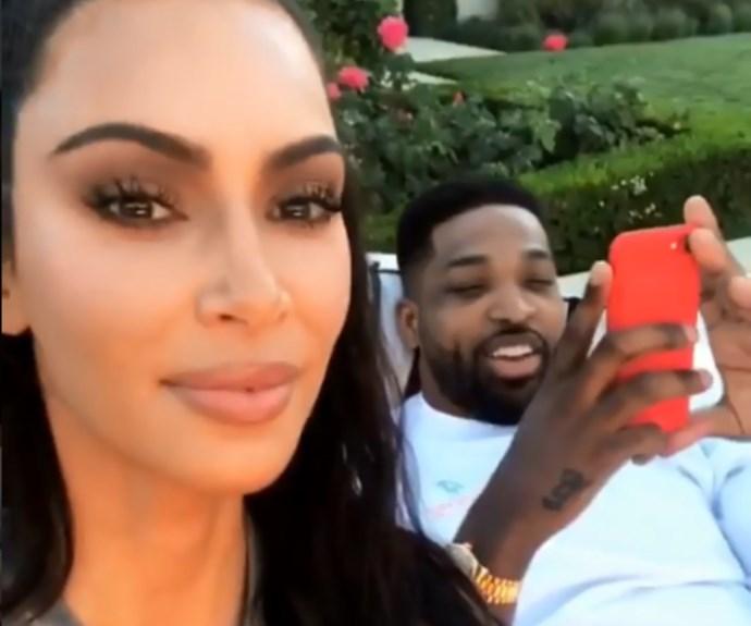 Kim Kardashian forces Tristan Thompson to unblock her on social media