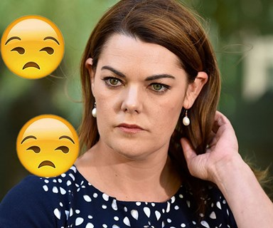 Sarah Hanson-Young shouldn't have to put up with this sh*t