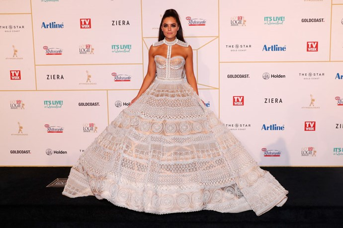 Olympia Valance is the world's most wonderful doily.