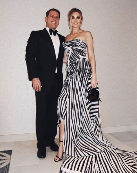I'm calling it: Best dressed of the night was Jasmine Yarbrough in zebra-inspired Toni Maticevski. In another bold move, Karl Stefanovic, aka the man who wore one suit for an entire year, decided to change suits. Groundbreaking.
