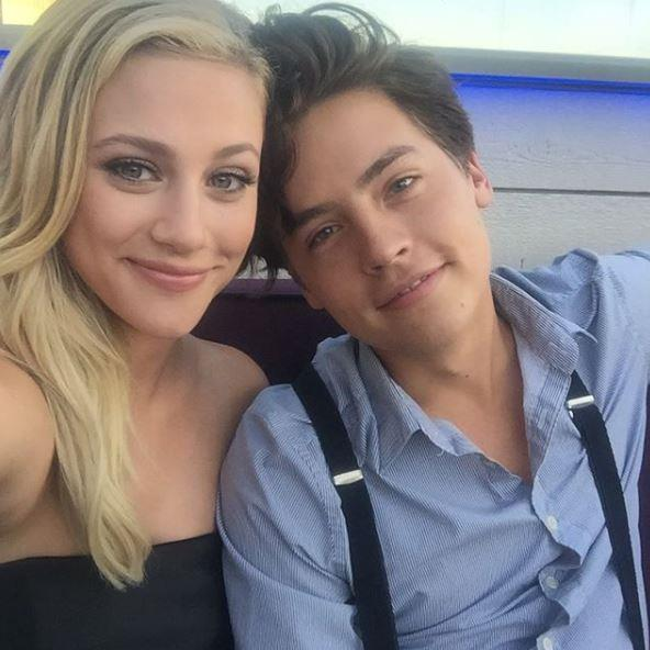 **Lili Reinhart and Cole Sprouse** <br><br> The OG on-set lovebirds, Lili Reinhart and Cole Sprouse confirmed long-running rumours they were more than friends by stepping out together at the 2018 Met Gala. Now can we get them to sign a legal document promising they'll never break up? Great.