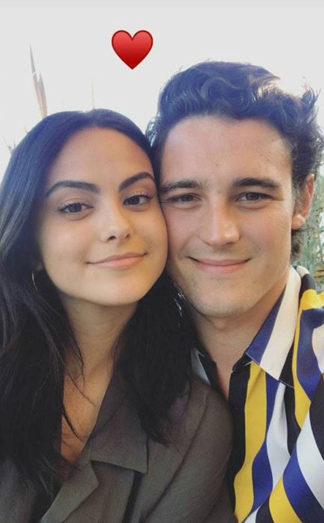 *Riverdale*'s Veronica Lodge, aka Camila Mendes, has only recently found love with boyfriend Victor Houston and the pair are ALL over each other's Instagrams.