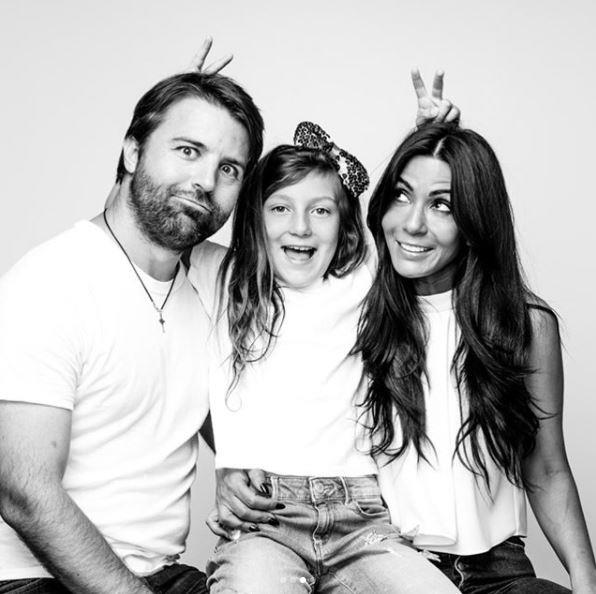 **Marisol Nichols and Taron Lexton** <br><br> Marisol Nichols (aka Hermione Lodge) is married to director Taron Lexton and the two have an adorable daughter named Rain together.