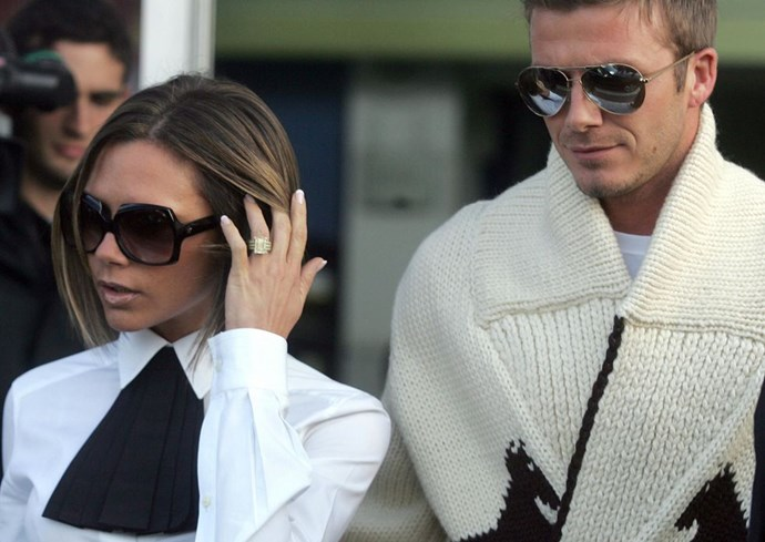 "**2006: Victoria Beckham and David Beckham** <br><br> It was hard to pick an exact year to celebrate these two, but it obviously wouldn't be a power couple list without them. Victoria's long-term success away from the Spice Girls proves she's a force to be reckoned with and, well, Beckham is such a famous soccer player there was a hugely popular [movie with a title based on his skill.](https://urldefense.proofpoint.com/v2/url?u=http-3A__www.imdb.com_title_tt0286499_-3Fref-5F-3Dnv-5Fsr-5F1&d=CwMFaQ&c=B73tqXN8Ec0ocRmZHMCntw&r=_lVDcfhZeapwSNppss3VUg6RNC_xa8WGYq9yIby-ylo&m=HuY0LgaI-eG2rK-xBPQ1ldVsU40jQw5ngoA0lLO1J8E&s=Ey3bC9APIH1xgV_4bpdevSrpApzQm99VjjDdTWo9isA&e=|target=""_blank""
