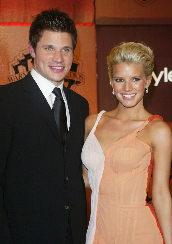 "**2004: Nick Lachey and Jessica Simpson** <br><br> Season two of *Newlyweds: Nick & Jessica* premiered in 2004 and Simpson's ""*With You*"" and ""*Take My Breathe Away*"" scored big on the charts. The thing about being newlyweds, though, is the honeymoon phase doesn't last forever."