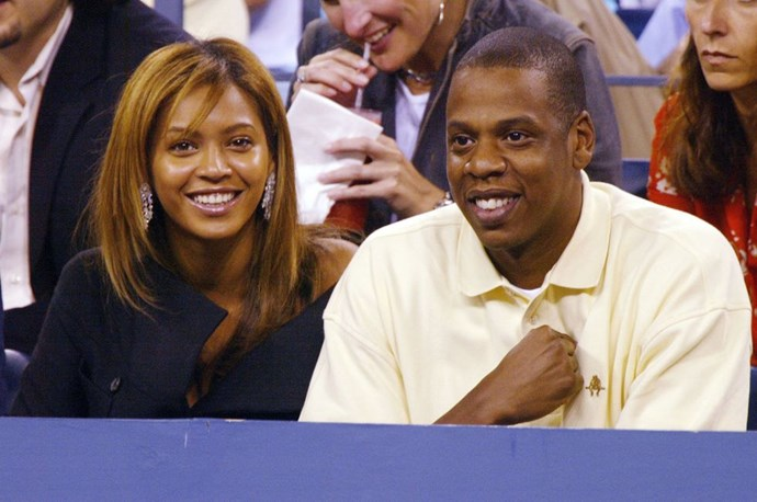 "**2003: Beyoncé and Jay-Z** <br><br> There's a pretty good case to be made for naming them power couple of the past decade. But if you were to pinpoint the start of their reign, this was the year the pair danced in front of a burning car in ""*Crazy in Love*"" and Jay Z's ""*Public Service Announcement*"" declared he ""Got the hottest chick in the game wearin' my chain."" All hail the '03 Bonnie & Clyde."