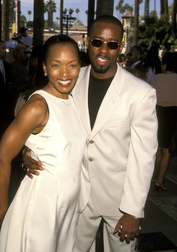 **1997: Courtney B. Vance and Angela Bassett** <br><br> The insanely attractive pair tied the knot in '97. Bassett's *Waiting to Exhale* came out two years prior, Vance's *The Preacher's Wife* the year before. They've been a simmering power duo for about two decades now.