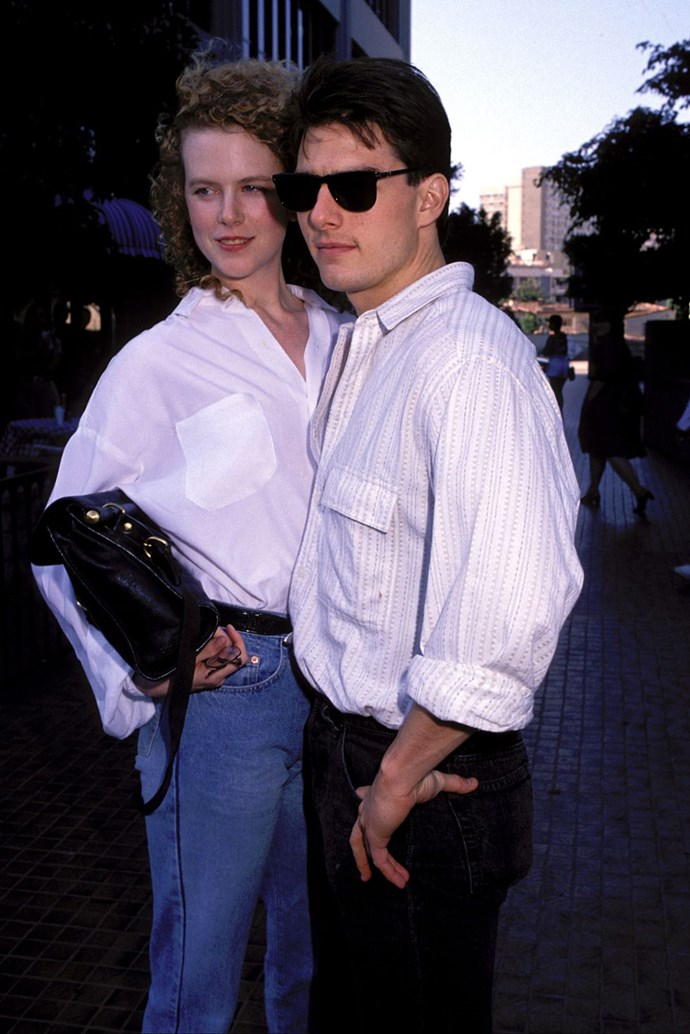 "**1990: Nicole Kidman and Tom Cruise** <br><br> They starred in *Days of Thunder* together this year and wed. People [offered this great](https://urldefense.proofpoint.com/v2/url?u=http-3A__www.people.com_people_archive_article_0-2C-2C20117247-2C00.html&d=CwMFaQ&c=B73tqXN8Ec0ocRmZHMCntw&r=_lVDcfhZeapwSNppss3VUg6RNC_xa8WGYq9yIby-ylo&m=HuY0LgaI-eG2rK-xBPQ1ldVsU40jQw5ngoA0lLO1J8E&s=9I562yGGgNbJxZRhkgJRrTE6P8tim2I9KhpVaoWay7M&e=|target=""_blank""