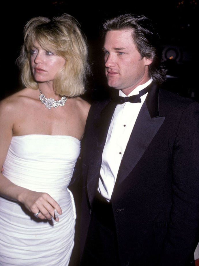 **1984: Goldie Hawn and Kurt Russell** <br><br> The longtime couple is famously unmarried, but maybe true love, for them at least, isn't about wedding rings.