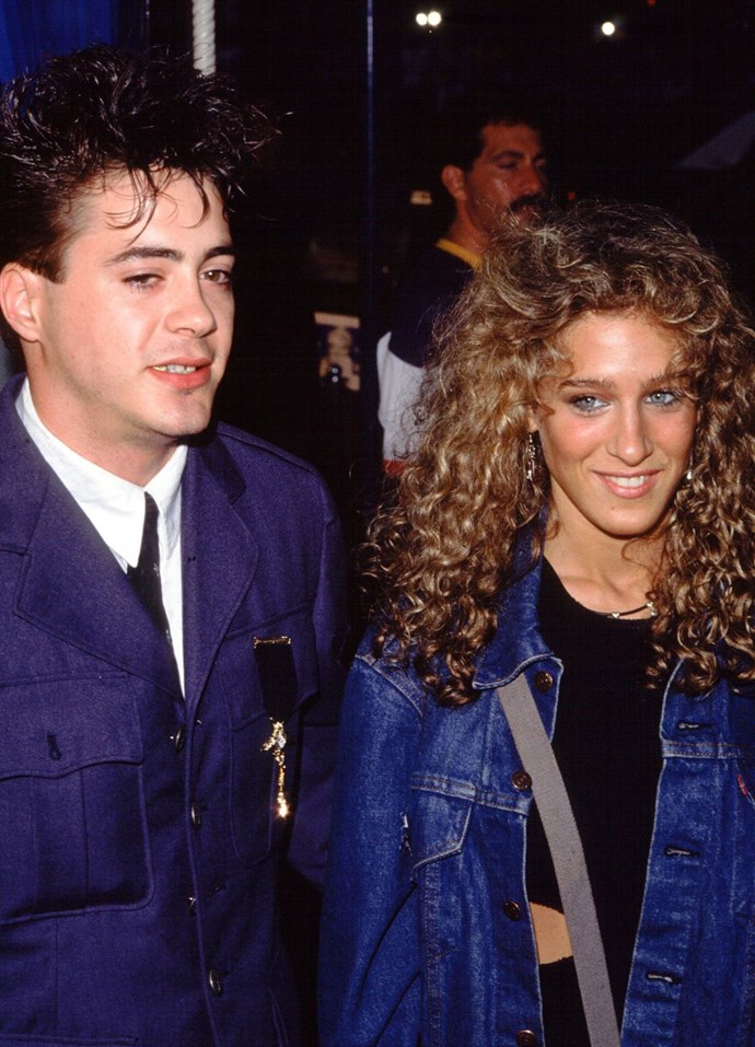 "**1983: Sarah Jessica Parker and Robert Downey Jr.** <br><br> Just look at these amazing pictures of them on [Old Loves Tumblr](https://urldefense.proofpoint.com/v2/url?u=http-3A__oldloves.tumblr.com_search_sarah-2Bjessica-2Bparker-2Brobert-2Bdowney-2Bjr.&d=CwMFaQ&c=B73tqXN8Ec0ocRmZHMCntw&r=_lVDcfhZeapwSNppss3VUg6RNC_xa8WGYq9yIby-ylo&m=HuY0LgaI-eG2rK-xBPQ1ldVsU40jQw5ngoA0lLO1J8E&s=MUEnuFnCP60L8hZJtmZjxa-vLwW3ayjYbeL4VI6LxpQ&e=|target=""_blank""